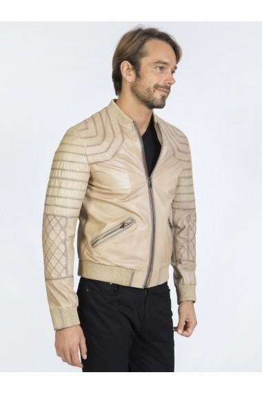 Jacheta din piele Sir Raymond Tailor SI6000890 Bej