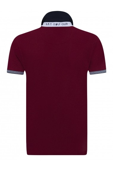 Tricou Polo Sir Raymond Tailor SI1325680 Bordo