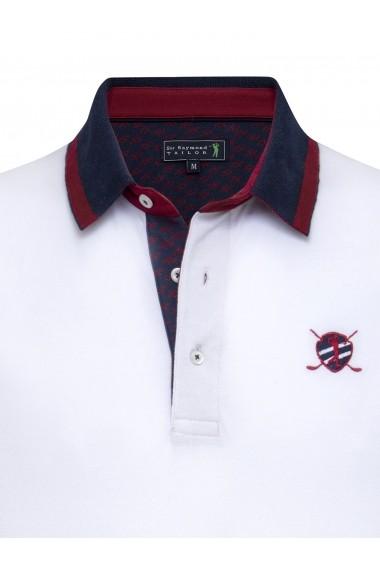 Tricou Polo Sir Raymond Tailor SI8799397 Alb