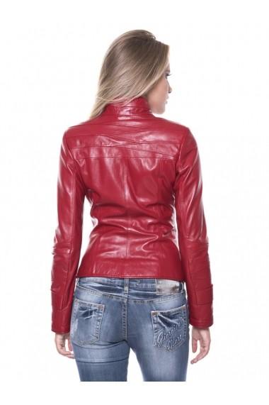 Jacheta din piele Sir Raymond Tailor SI2839138 Rosu