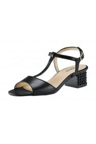 Sandale cu toc Gabor 22883364 negru lucios