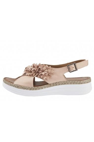 Sandale plate Andrea Conti 60378543 bej