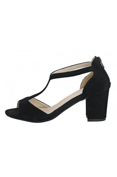 Sandale cu toc Andrea Conti 83137944 negru