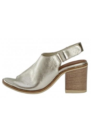 Sandale cu toc Andrea Conti 88710538 auriu