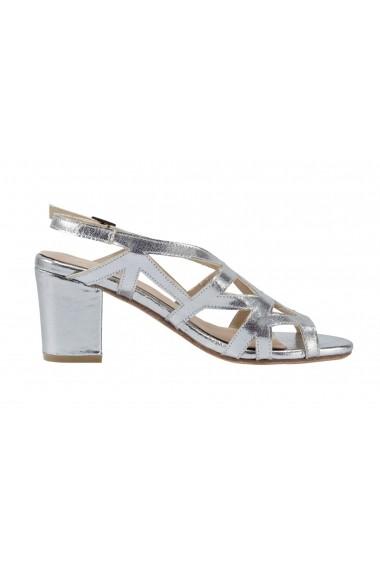 Sandale cu toc Andrea Conti 88955518 argintiu