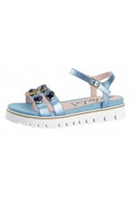 Sandale plate Xyxyx 15577211 albastru