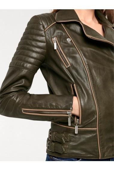 Jacheta din piele heine CASUAL 98607544 verde