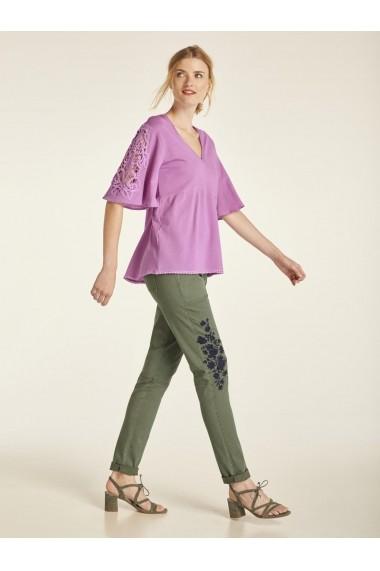 Pantaloni largi heine CASUAL 28156265 verde