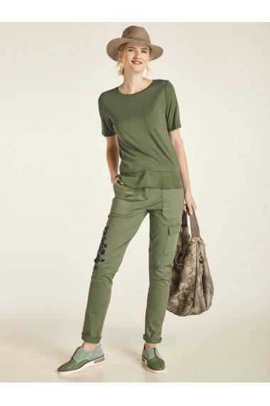 Pantaloni largi heine CASUAL 83843409 verde - els