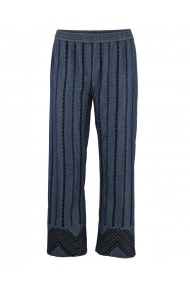 Pantaloni drepti heine CASUAL 82623836 albastru