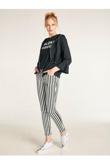 Pantaloni drepti heine CASUAL 93745051 negru