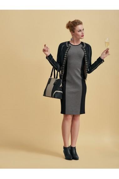 Jacheta din piele heine TIMELESS 18616048 negru