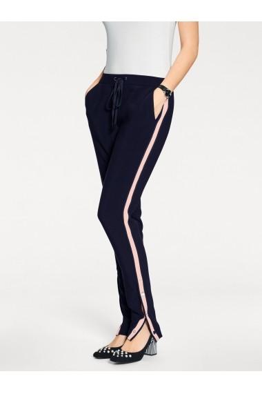 Pantaloni drepti heine TIMELESS 005917 bleumarin