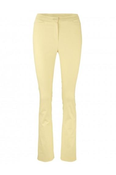 Pantaloni drepti heine TIMELESS 15358953 galben