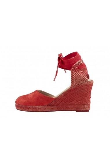 Sandale cu toc Heine 28621024 rosu - els
