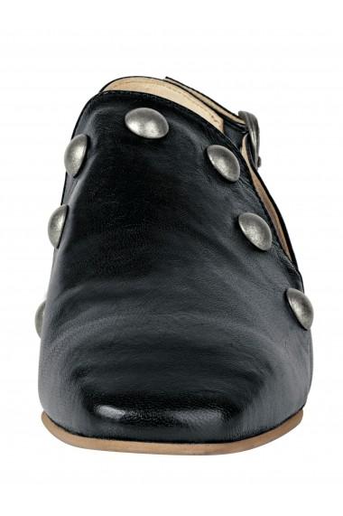 Sandale plate Heine 30059953 negru