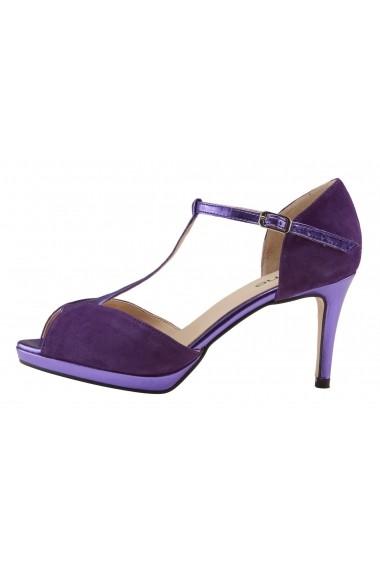 Sandale cu toc Heine 41504346 lila