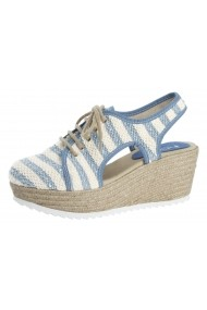 Sandale cu platforma Heine 43899511 albastru