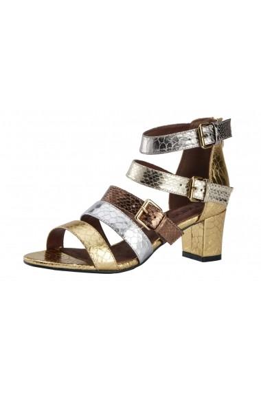 Sandale cu toc Heine 70157449 auriu - els