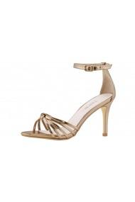 Sandale cu toc Heine 83234446 aurii