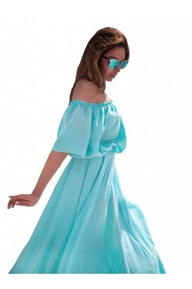 Rochie de zi Chic Diva din Voal Bleu