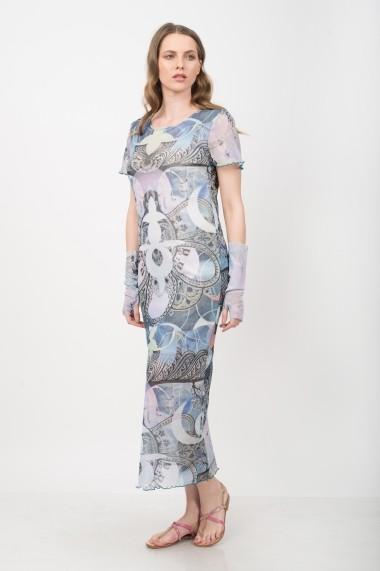 Rochie de zi Colors by Mia Carla Fair spring gaze