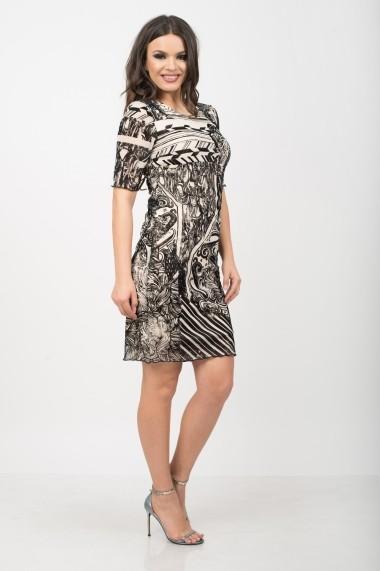 Rochie de zi Colors by Mia Fair Lady minimalistic velvet