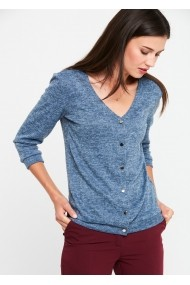 Пуловер ZOCHA GLB-Z064_blue синьо