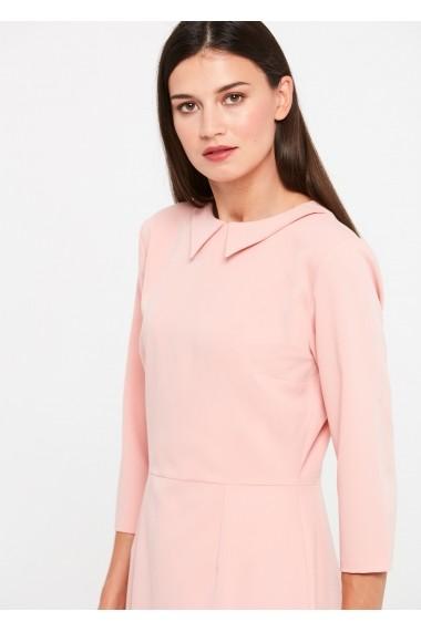 Rochie ZOCHA Z073 pink Roz