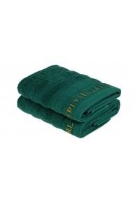 Set 2 prosoape pentru maini 355BHP2242 Beverly Hills Polo Club Verde