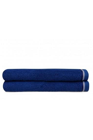 Set 2 prosoape de baie 317HBY1465 Hobby Albastru