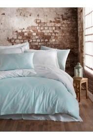 Set lenjerie de pat 162ELR2254 EnLora Home Albastru