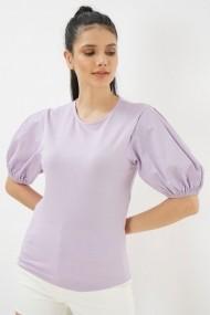 Bluza cu maneca scurta Clementine 580CMT1517 mov