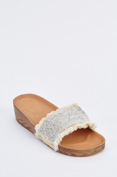 Papuci 633530-254270 Bej