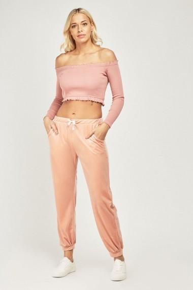 Pantaloni sport eOutlet 654882-296576-140980 Roz