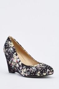 Обувки на ток 632253-251810 черно
