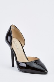 Pantofi cu toc 632463-252237 Negru