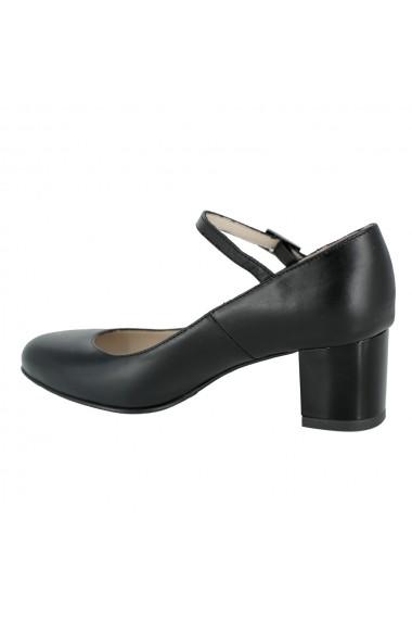 Pantofi cu toc Luisa Fiore Sonagli LFD-SONAGLI-01 negru