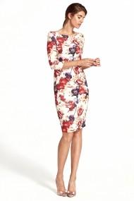 Nife Hétköznapi ruha NFE-s106-flowers virágos