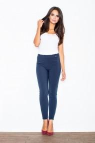 Pantaloni skinny Figl M328 Bleumarin