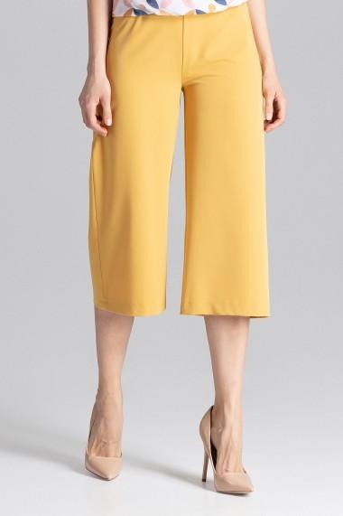 Pantaloni largi Figl M655 Galben