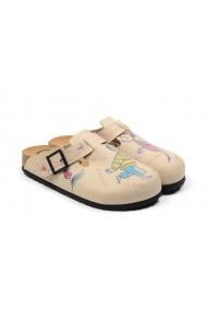 Papuci CALCEO CAL3407 Multicolor