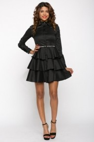 Rochie InnaB 415 negru