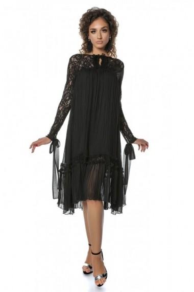Rochie InnaB 548 negru