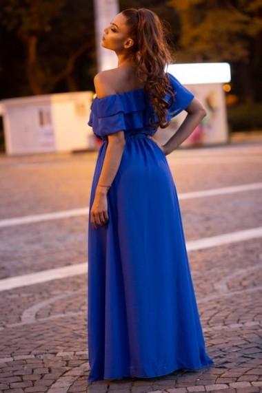 Rochie InnaB 308 albastru