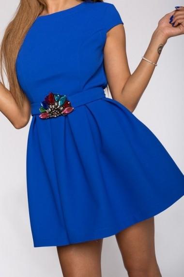 Rochie InnaB 304 albastru