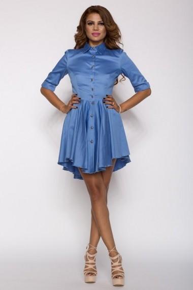 Rochie InnaB 171 albastru