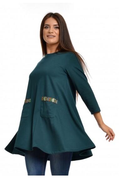 Rochie de zi Eranthe Jess Verde