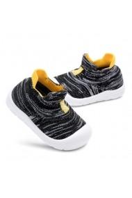 Mocasini Superbebeshoes tip adidas MBD2191-3-Negru