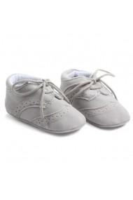 Pantofiori Superbebeshoes eleganti baieteti MDD0772-Gri